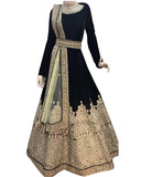 Black Color Wedding Lehenga