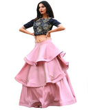 Pink Color Circle Lehenga
