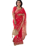 Bollywood Kajol Gotti Patti Work Georgette Saree