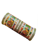 Bridal Rajputi Hand Crafted Traditional Printed Bangles