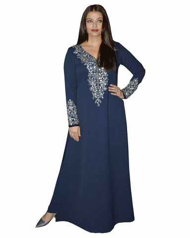 Bollywood blue Color Aiswarya Rai Long Kurta