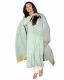 Bollywood Green Color Aiswarya Rai Long Kurta