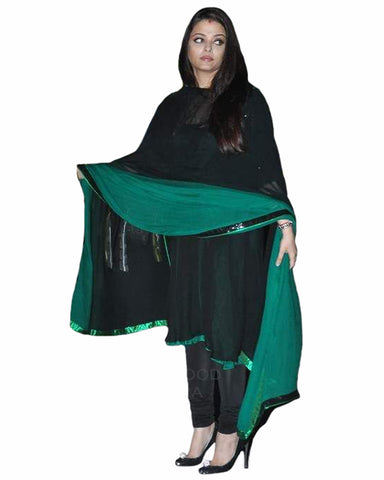 Bollywood Black Color Aiswarya Rai A-line kurta