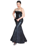 Bollywood Dress Black Color Aiswarya Designer Gown