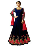 Black Anarkali Heavy Georgette Gown