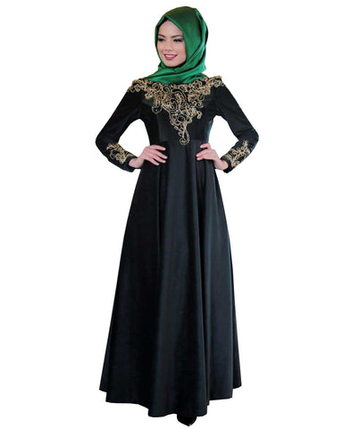 Black Color Islamic kaftan