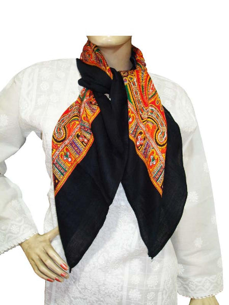BlackDesigner Viscose Scarves
