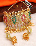 Bollywood Collection Choker necklace set for Women