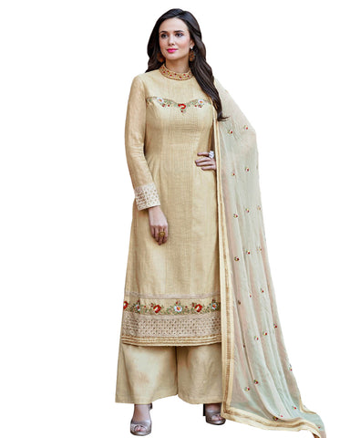 Stone Embroidered Palazzo Dress Women Suit Design