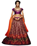 Designer Purple Color Lehenga Choli