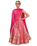Bollywood Hot Pink Color lehenga