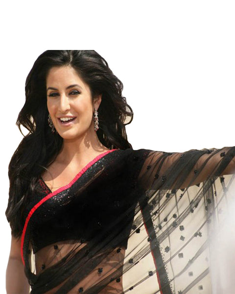 Singh Is King Black Katrina Sari