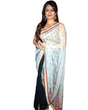 Bollywood Mahima Chaudhari Black/White Saree