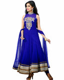 Designer Royal Blue Anarkali Suit