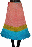 Red Rajasthani Traditional Skirt