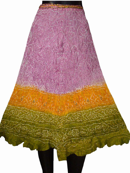 Rajasthani Multi Color Traditional Skirt