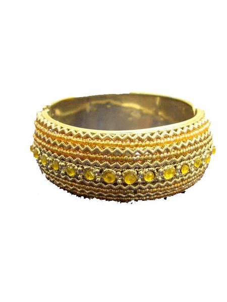 Golden & Yellow Designer Bracelet