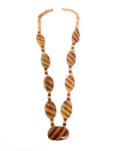Wooden pearls Necklace