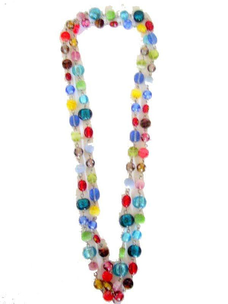 Multy Color Beads Necklace