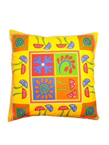 Yellow Cushion Cover
