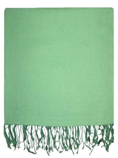 Green Cashmere Stole