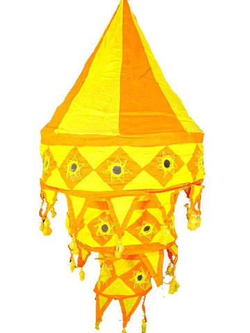 Yellow & Orange Lampshades