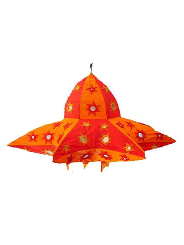 Red & Orange Lampshades