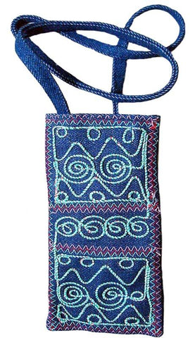 Blue Full Designer Mobile Bag Bag