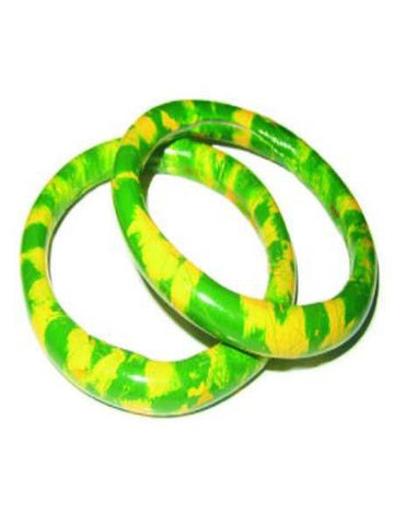 Green & Yellow Bangel