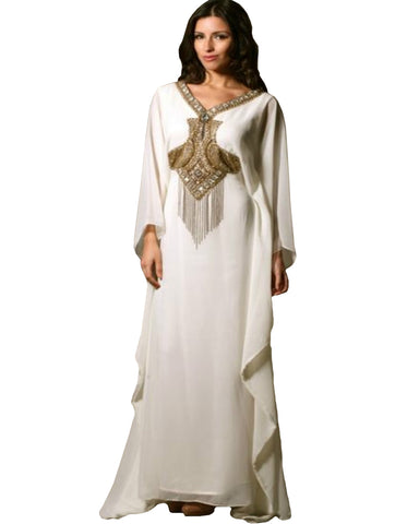 White color islamic kaftan
