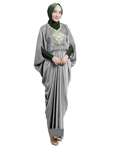 Grey Color Islamic kaftan