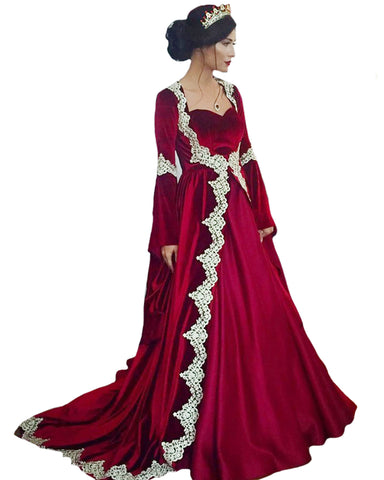 Maroon Color Islamic kaftan