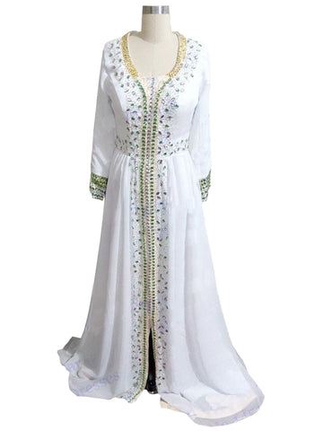 White Color kaftan