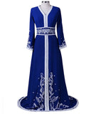 Royal Blue Color kaftan