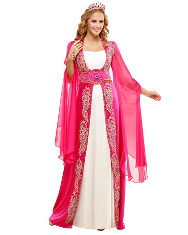 Pink Color Kaftan