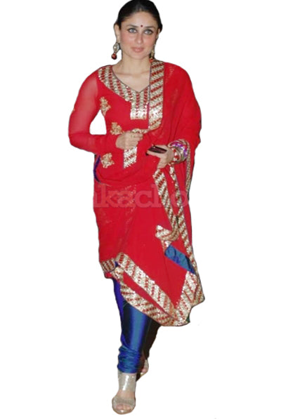 Red Kareena Suit