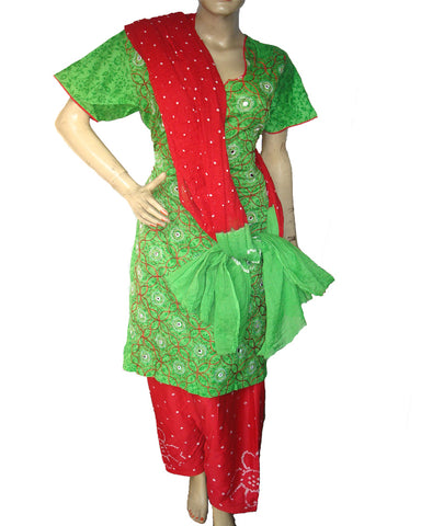 Red Green bandini Suit