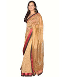 Diya Mirza Golden Beige Bollywood Saree