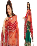 Red And Green Exclusive Lehnga