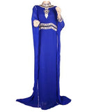 Blue Islamic Kaftan