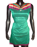 Multi Color Yoke Green Kurti