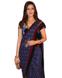 Sonali Blue Gold Net Saree