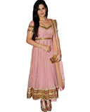 Zarin Khan Exclusive Pink Net Suit