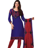 Gorgeous Navy Blue Salwar Kameez