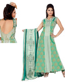 Ravishing Green Brocade Anarkali