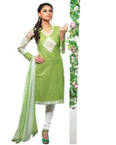 Green Cotton Suits