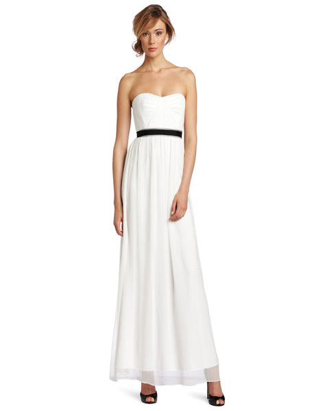 Party wear White Long Dresses