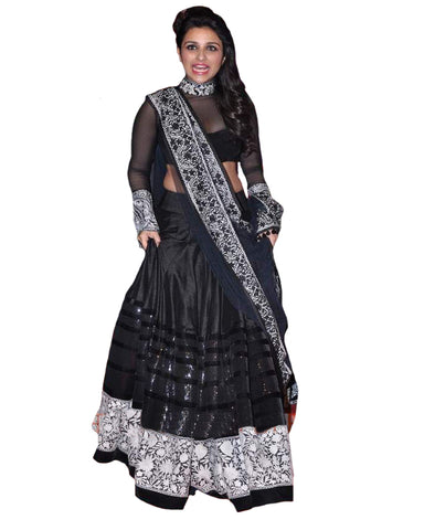 Bollywood Designer Black Lehnga