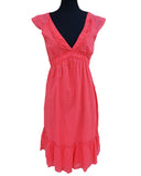 Summer Red Designer  Dress