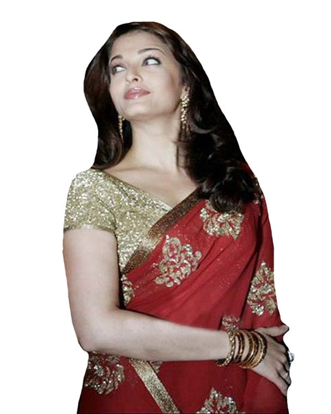 Bollywood Red Saree